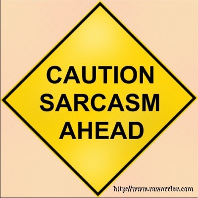 Web MD RA Quiz sarcasm sign