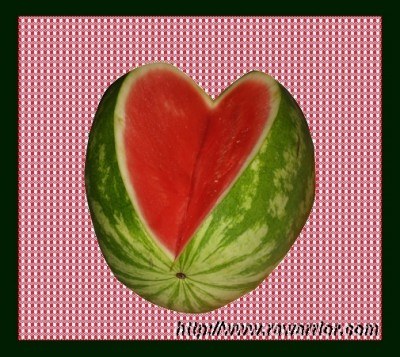 RA breaks your heart watermelon