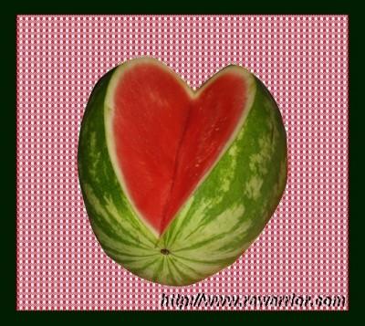 RA breaks your heart watermelon