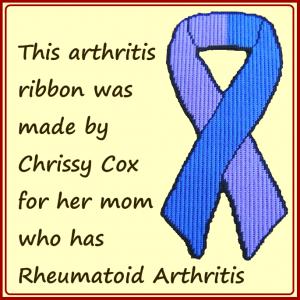 arhtritis ribbon