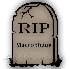 Tombstone Macrophage