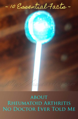 essential facts rheumatoid arthritis blue tootsie pop