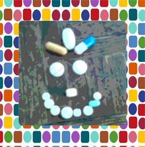 Pills smile
