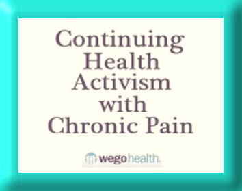 continuing Health Activism chronic pain logo