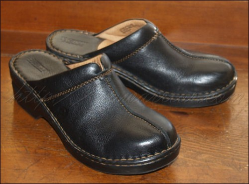 Black Born clogs