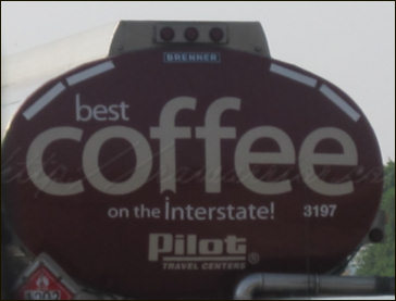 coffee truck close up