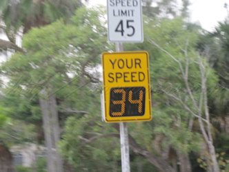 under speed limit