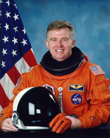 Astronaut Charles Brady press photo