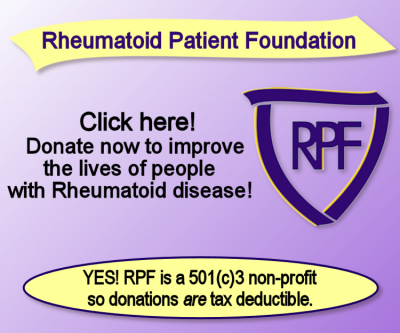 Click to donate to the Rheum Patient Foundation
