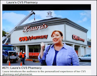 Laura's CVS commercial