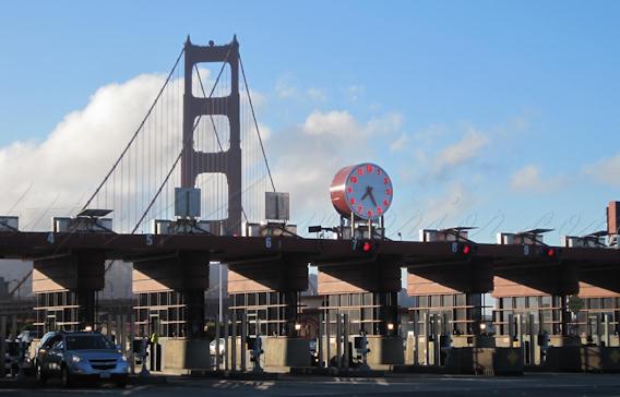 Golden Gate Bridge toll