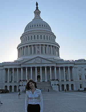 Kelly at US Capitol