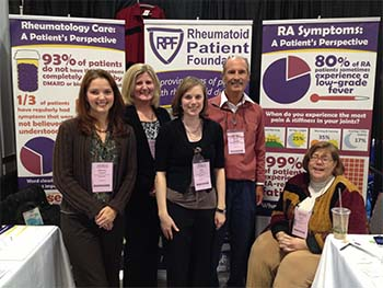 Rheumatoid Patient Foundation Volunteers at ACR