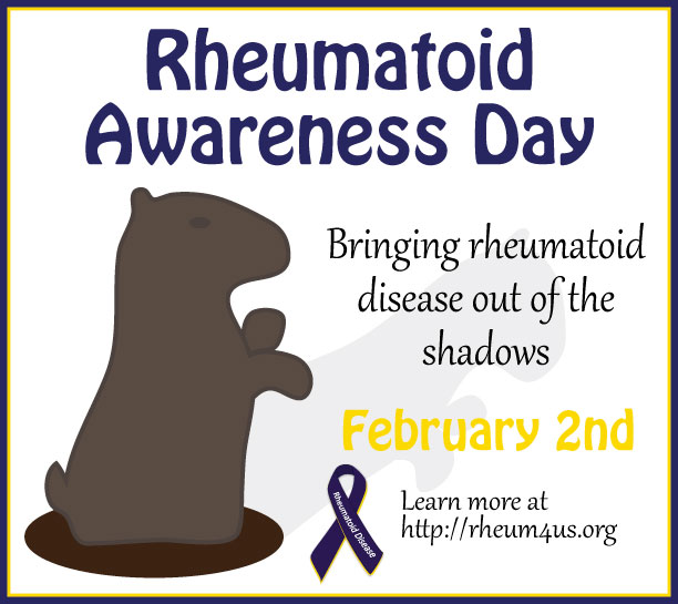 Rheumatoid Disease Awareness Day - February 2