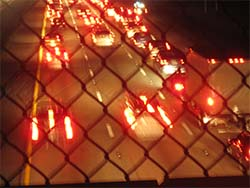 traffic from bridge