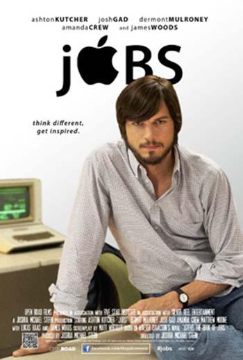 Jobs movie poster starring Ashton Kutcher