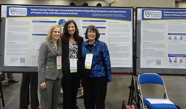 RD experience poster team at ACR13