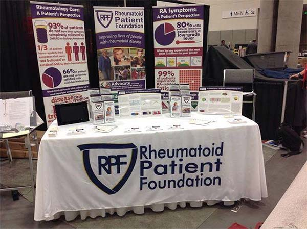 Rheumatoid Patient Foundation (RPF) exhibit at ACR13