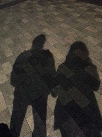 DJ & Kelly shadow