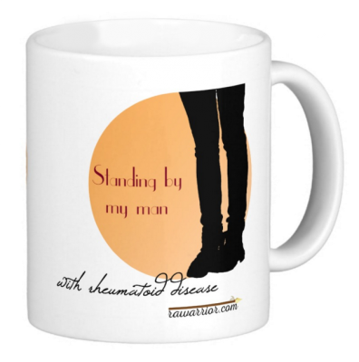 rheumatoid arthritis awareness mug