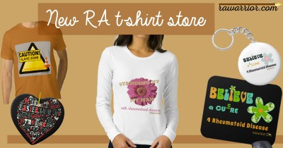 rheumatoid arthritis t-shirts and gear