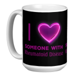 I heart someone mug