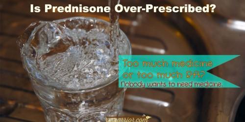 Is prednisone over prescribed?