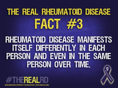 The Real Rheumatoid Disease Fact 3