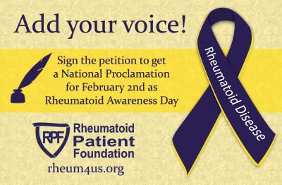 Rheumatoid Arthritis Petition