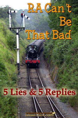 RA Can't Be That Bad – 5 Lies and 5 Replies.