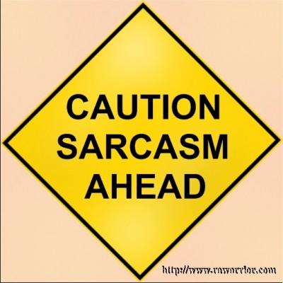 Web MD RA Quiz sarcasm sign