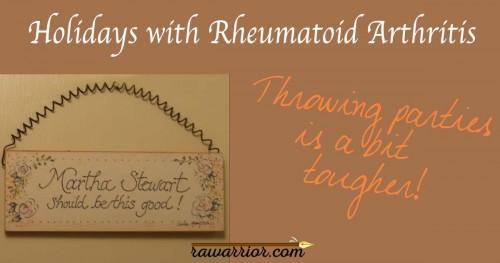 holidays with rheumatoid arthritis
