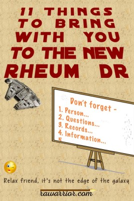 bring to new rheumatoid arthritis specialist