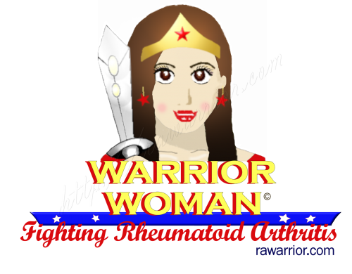Warrior woman RA t-shirt