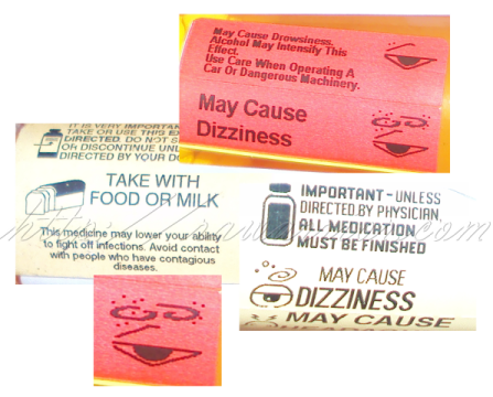 prednisone side effects labels