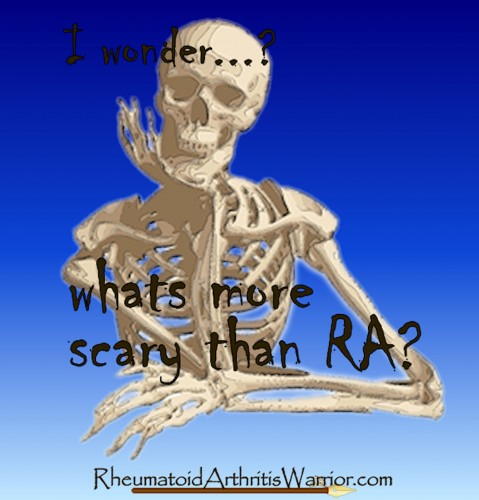 RA skeleton t-shirt