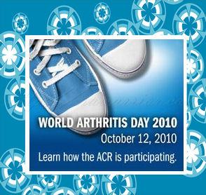 world arthritis day badge ACR