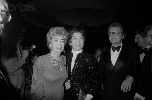 Rosalind Russell and Joan Crawford 1974