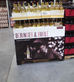 Warehouse club display