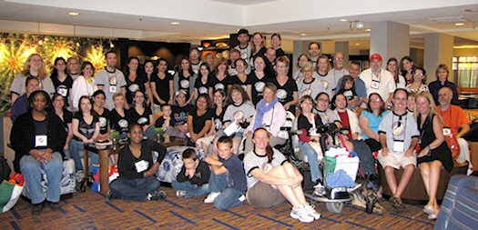 The Gathering G4 group picture