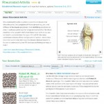 Decreased risk of Rheumatoid Arthritis