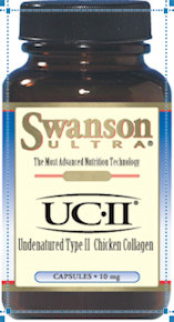 chicken collagen II bottle