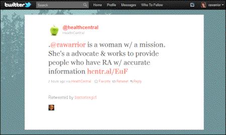 health_central_RA_warrior_tweet