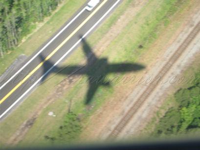 shadow of plane