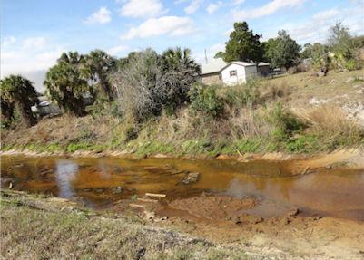 dried stream