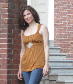 Kelly at Independence Hall