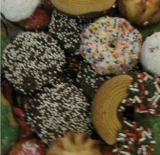 sugar coated cookies