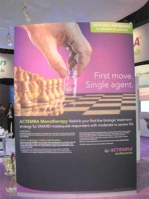 New Actemra chess board ad ACR