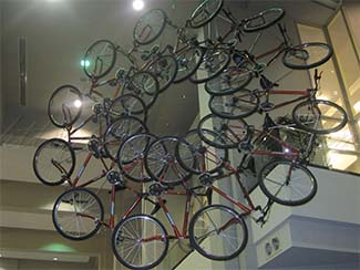Bicycles Walter Washington Convention Center DC
