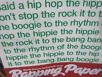 Rapping Paper Christmas wrapping paper